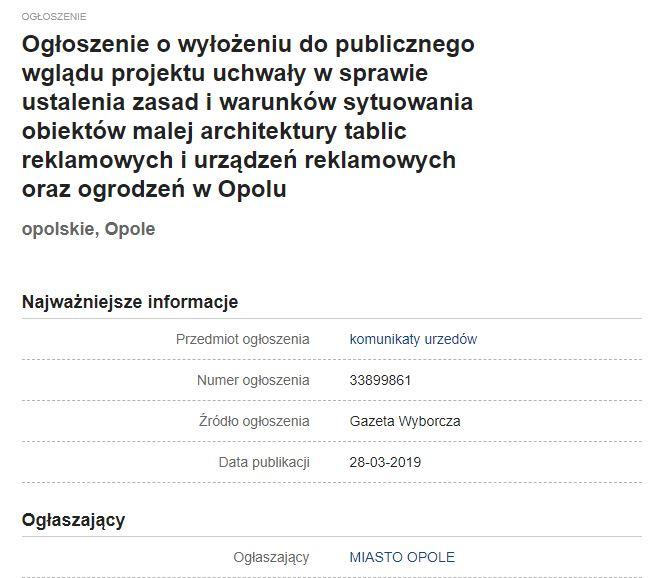 Opole – refleksja przed ostatnim dzwonkiem