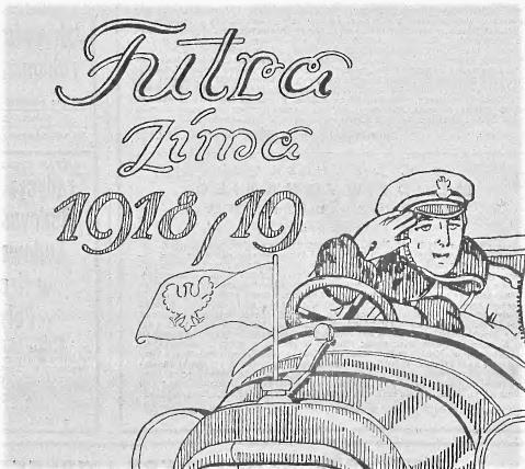 100 lat temu. Reklama w warszawskiej prasie.