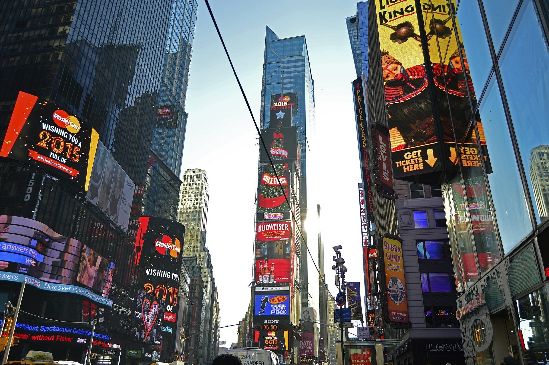 Co słychać w dużym mieście? OOH w Nowym Jorku