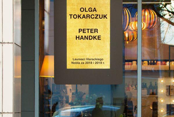 MORE nobel dla Olgi Tokarczuk