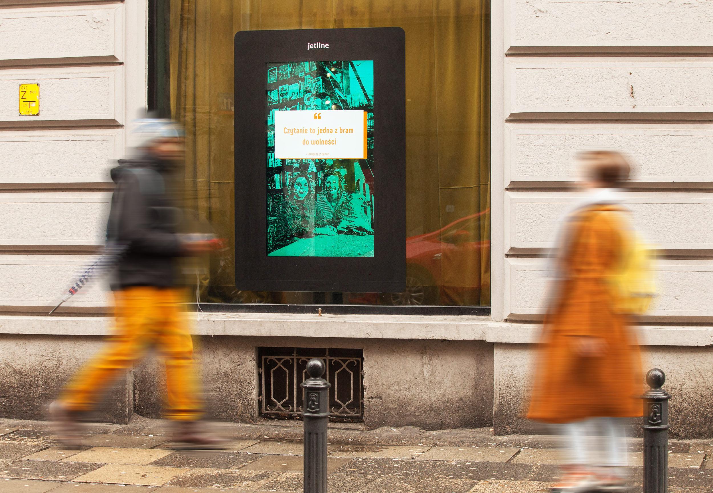 Ekrany MORE od Jet Line już niedługo w Krakowie