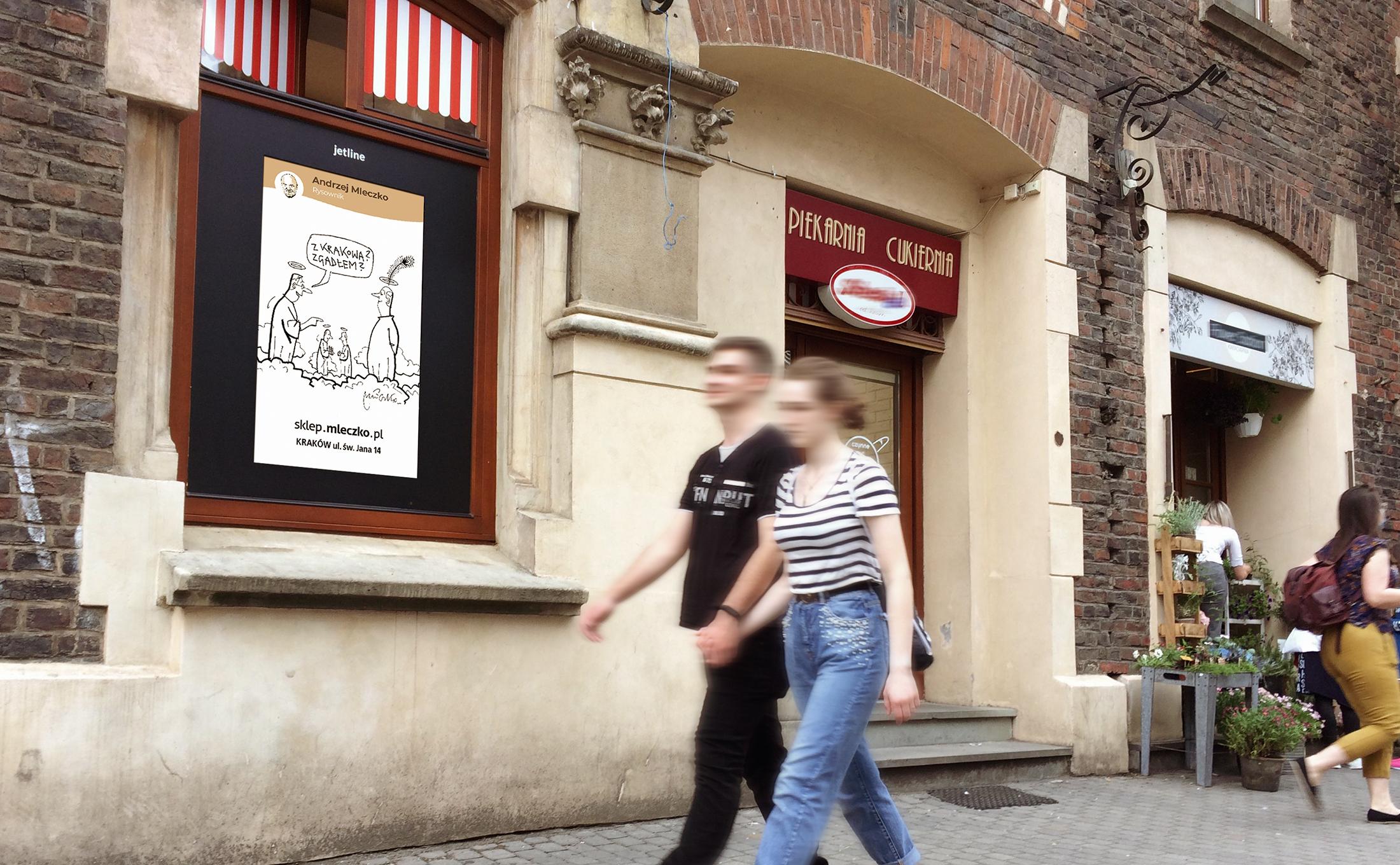 Powiększyliśmy zasięg sieci DOOH. MORE w Krakowie.