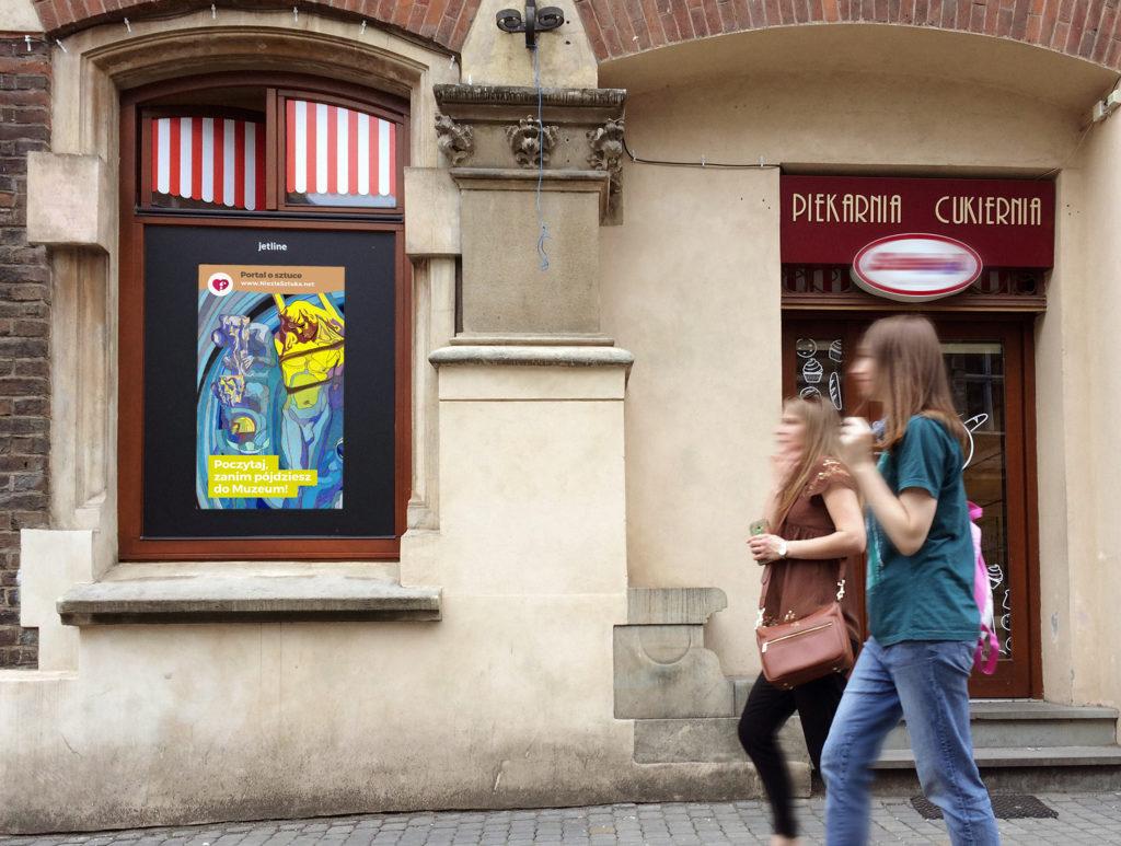ekrany DOOH w Krakowie