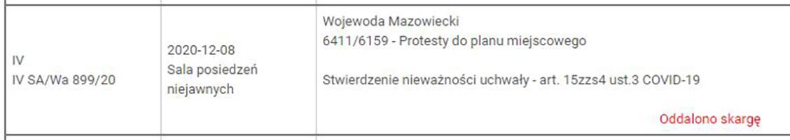 Warszawska uchwała krajobrazowa. Sąd potwierdził niezgodność z prawem